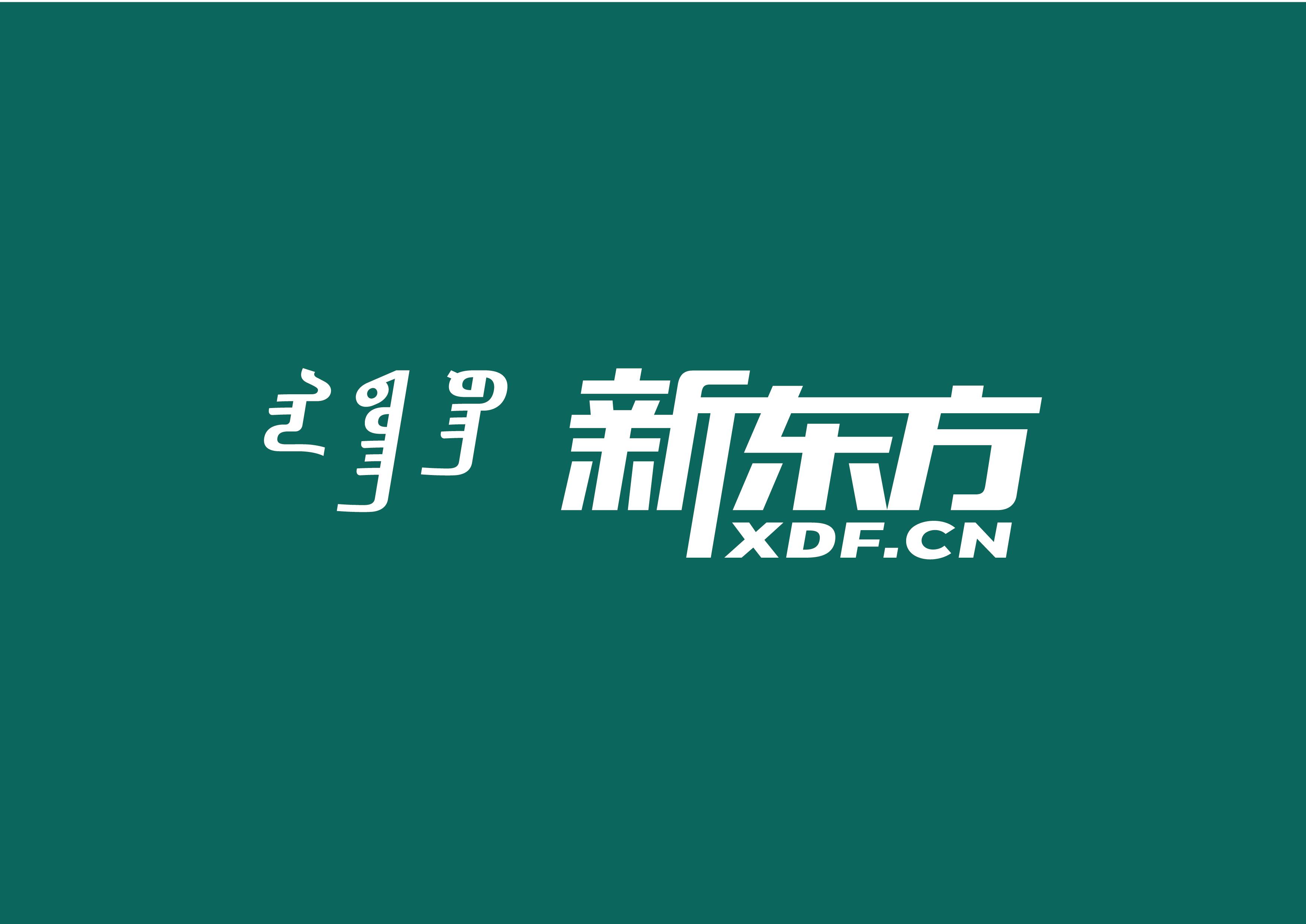 新东方蒙古文字体设计 第7张