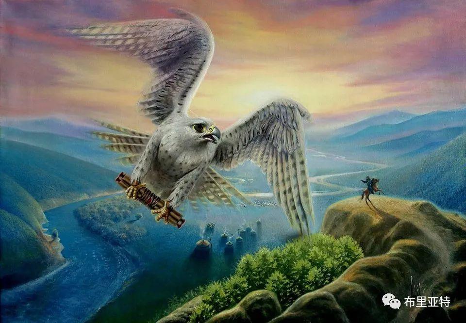 蒙古国油画,彩笔画大师巴雅尔作品欣赏 第8张