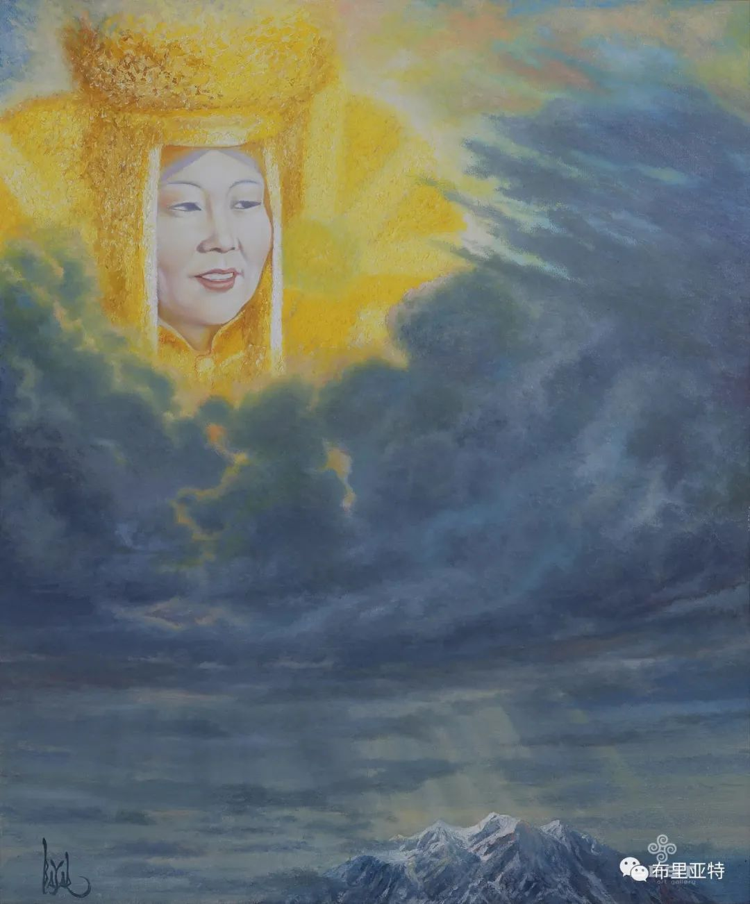 蒙古国油画,彩笔画大师巴雅尔作品欣赏 第16张