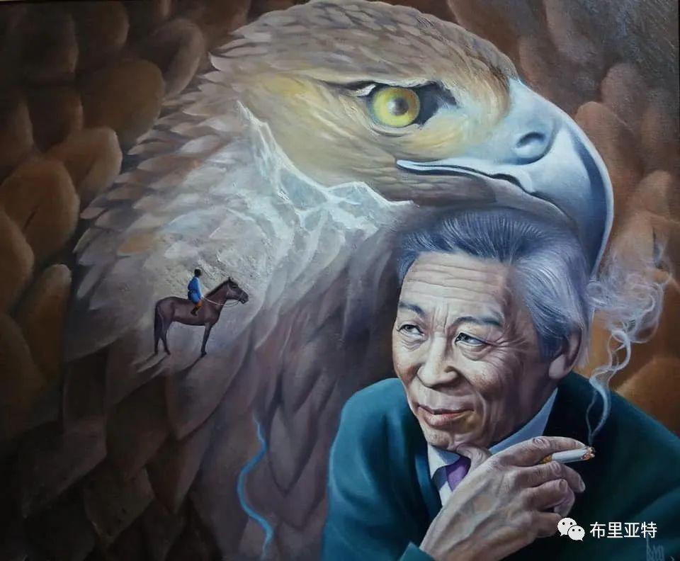 蒙古国油画,彩笔画大师巴雅尔作品欣赏 第18张