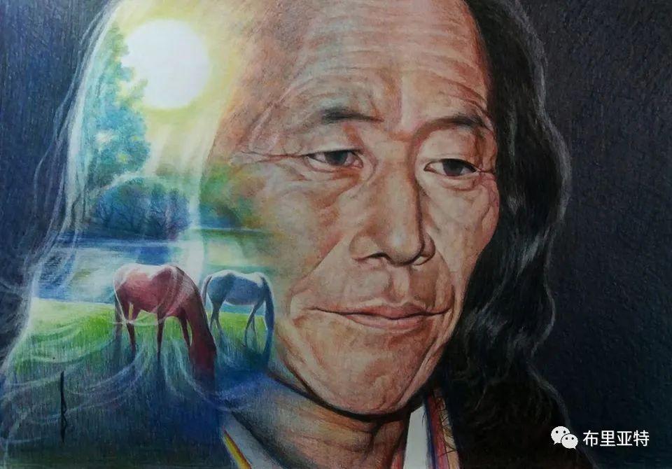 蒙古国油画,彩笔画大师巴雅尔作品欣赏 第20张