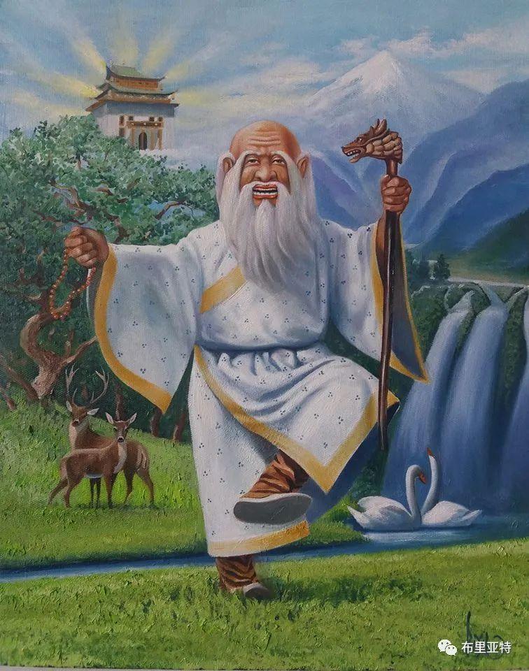 蒙古国油画,彩笔画大师巴雅尔作品欣赏 第21张