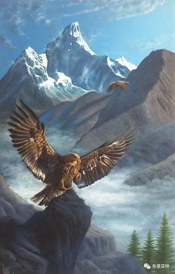 蒙古国油画,彩笔画大师巴雅尔作品欣赏 第22张