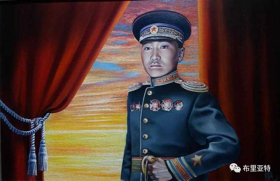 蒙古国油画,彩笔画大师巴雅尔作品欣赏 第29张