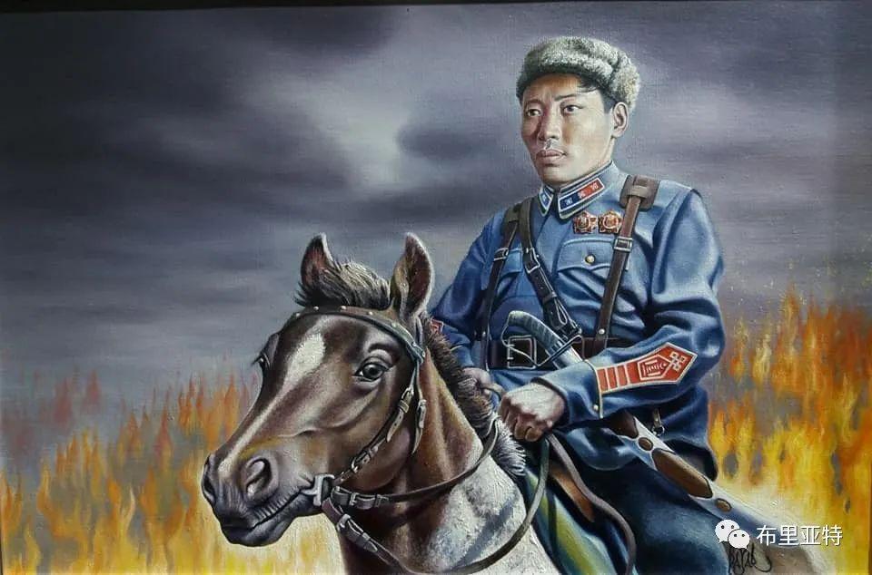 蒙古国油画,彩笔画大师巴雅尔作品欣赏 第28张