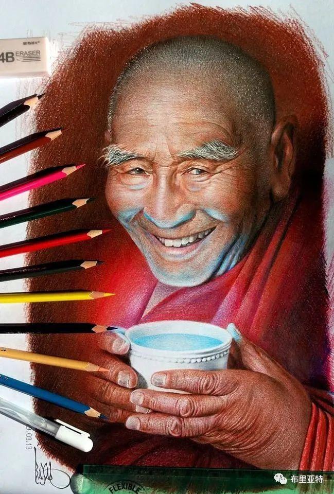 蒙古国油画,彩笔画大师巴雅尔作品欣赏 第40张
