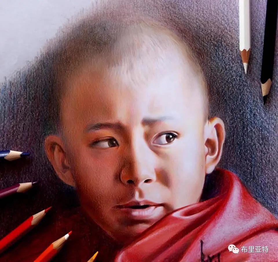 蒙古国油画,彩笔画大师巴雅尔作品欣赏 第47张