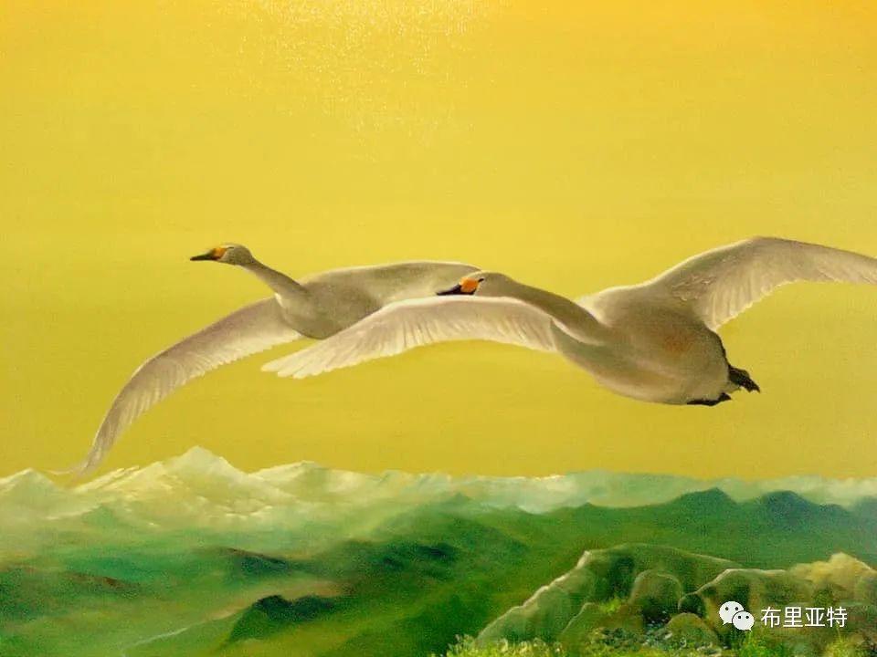 蒙古国油画,彩笔画大师巴雅尔作品欣赏 第74张
