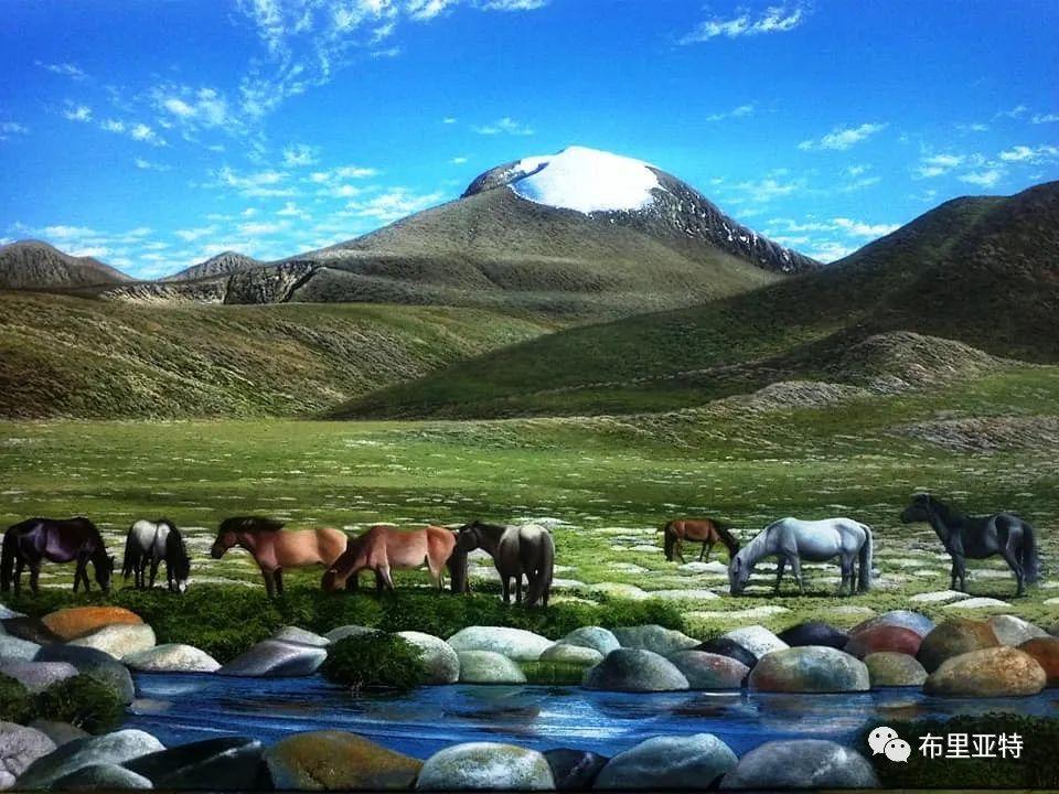 蒙古国油画,彩笔画大师巴雅尔作品欣赏 第76张