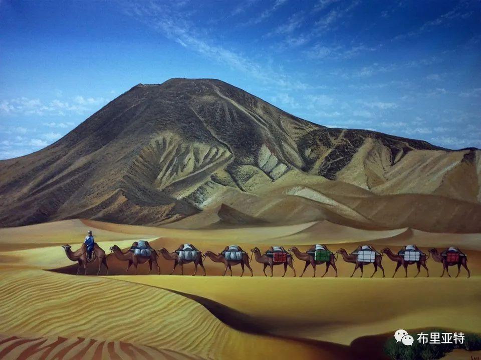 蒙古国油画,彩笔画大师巴雅尔作品欣赏 第84张