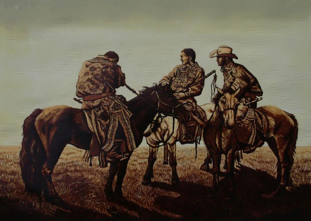 内蒙古当代美术家系列--金宝军 第5张