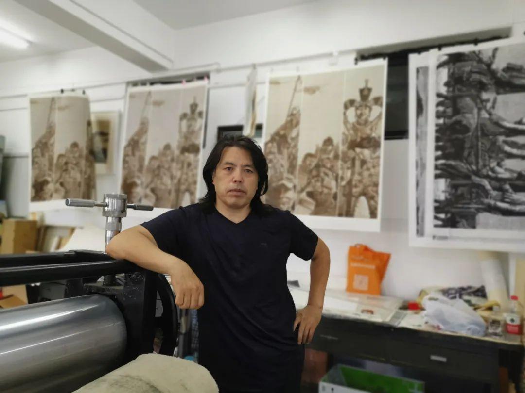 内蒙古当代美术家系列--金宝军 第1张