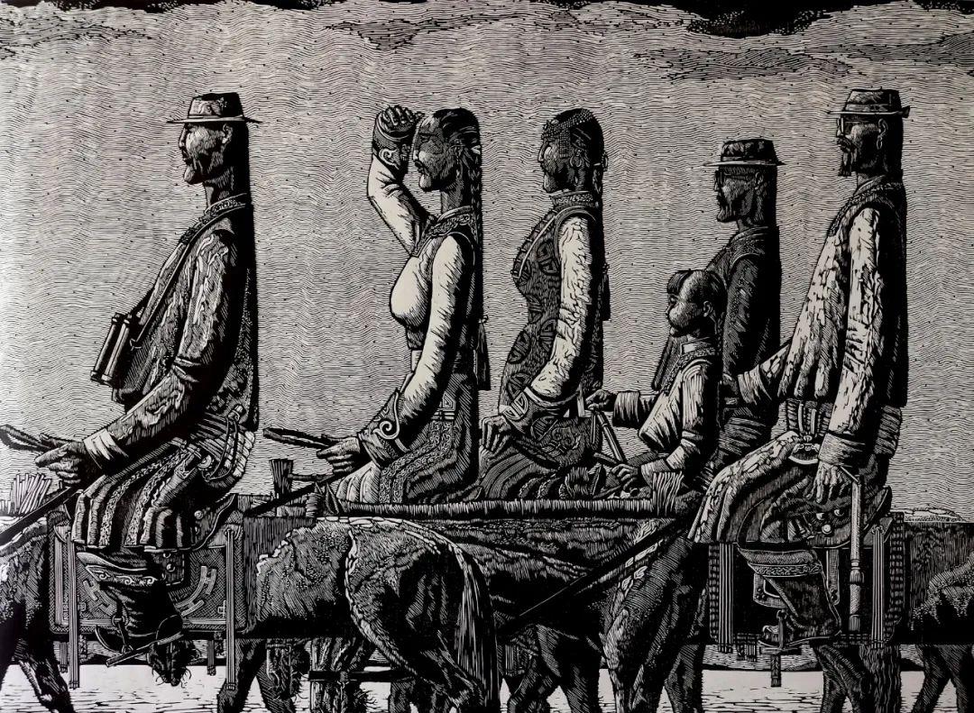 内蒙古当代美术家系列--金宝军 第4张