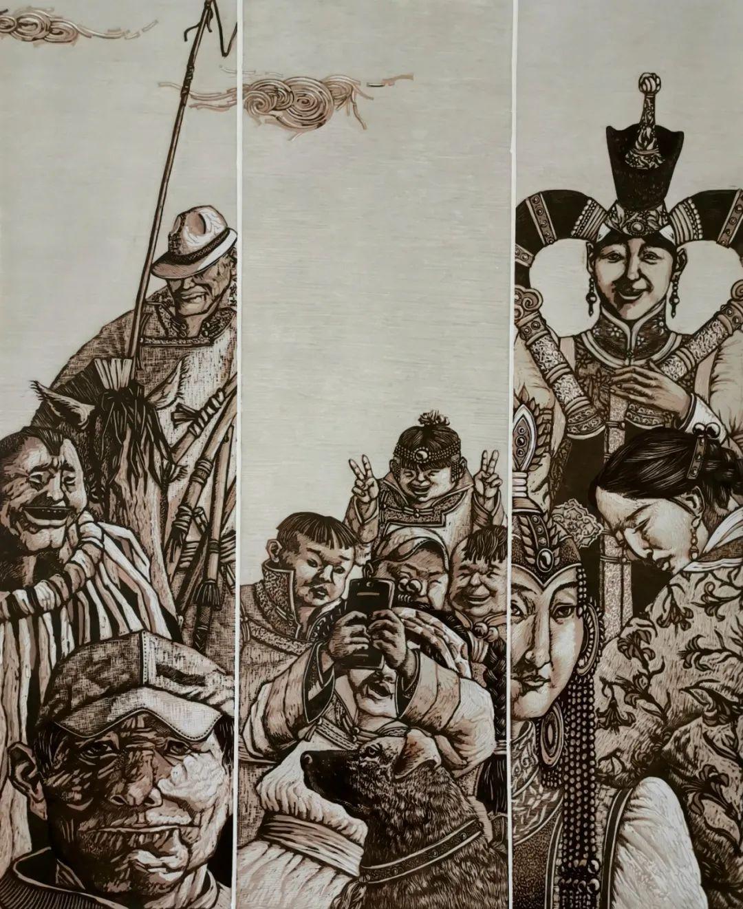 内蒙古当代美术家系列--金宝军 第9张