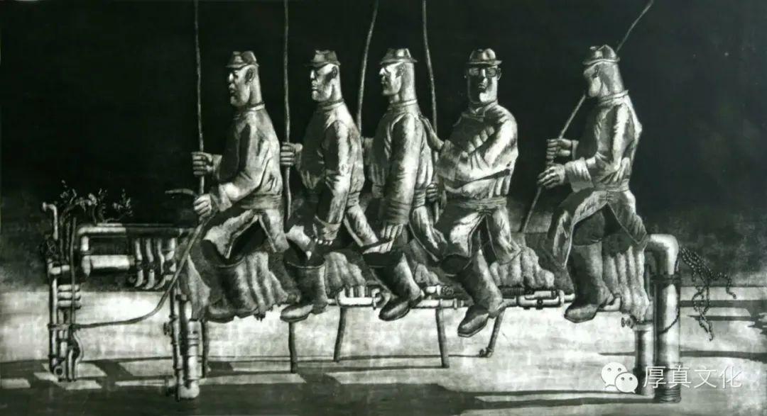 内蒙古当代美术家系列--金宝军 第13张