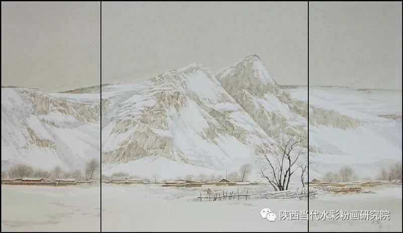 张红亮作品   内蒙古艺术家水彩画作品专题微展第17集 第4张