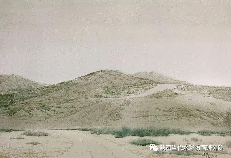张红亮作品   内蒙古艺术家水彩画作品专题微展第17集 第5张
