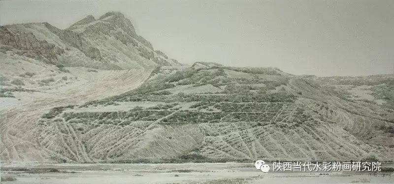 张红亮作品   内蒙古艺术家水彩画作品专题微展第17集 第2张