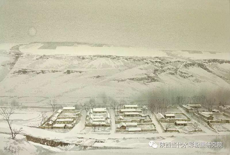 张红亮作品   内蒙古艺术家水彩画作品专题微展第17集 第3张