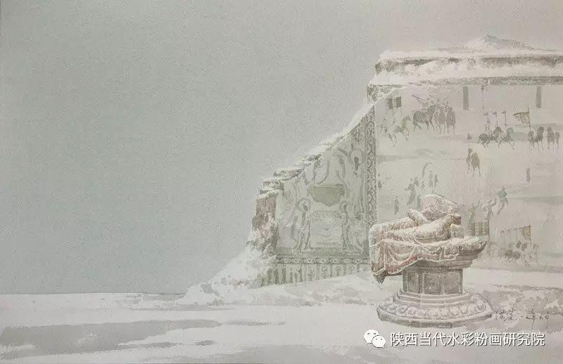 张红亮作品   内蒙古艺术家水彩画作品专题微展第17集 第10张