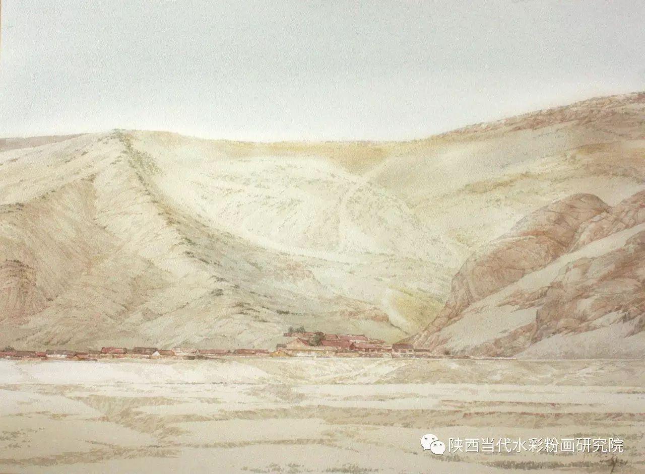 张红亮作品   内蒙古艺术家水彩画作品专题微展第17集 第6张