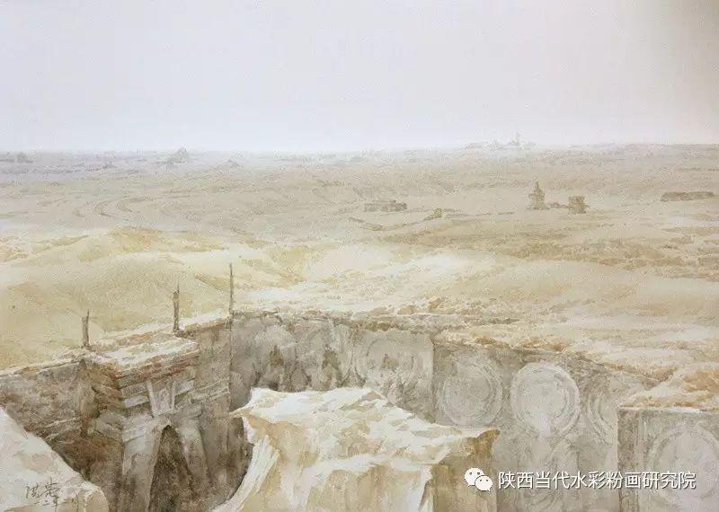 张红亮作品   内蒙古艺术家水彩画作品专题微展第17集 第9张
