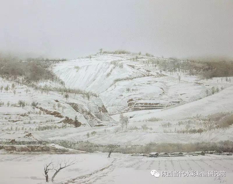 张红亮作品   内蒙古艺术家水彩画作品专题微展第17集 第7张