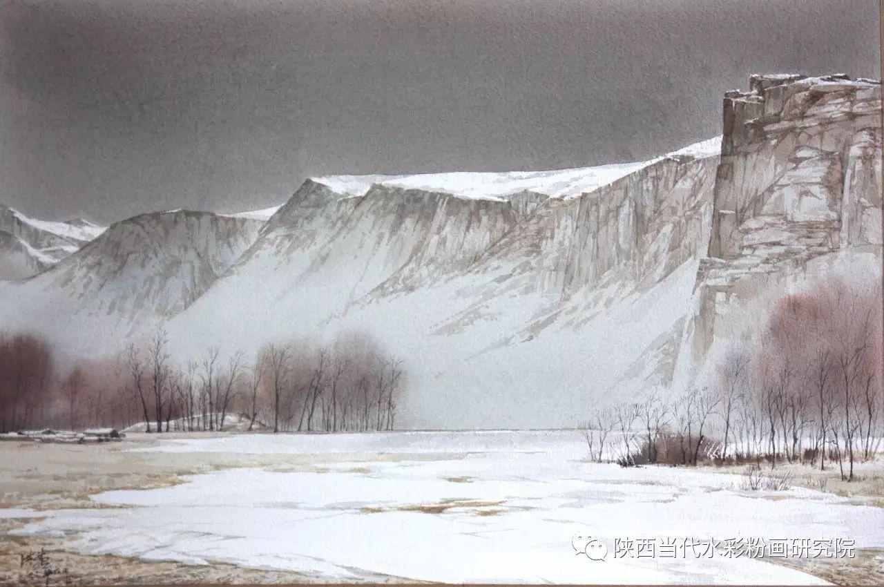 张红亮作品   内蒙古艺术家水彩画作品专题微展第17集 第8张
