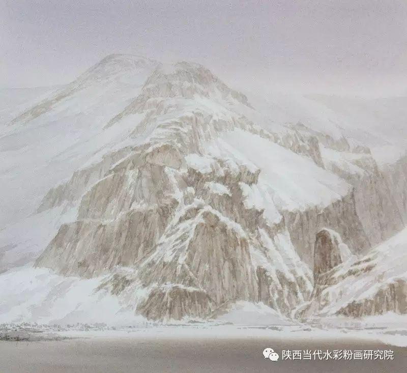 张红亮作品   内蒙古艺术家水彩画作品专题微展第17集 第13张