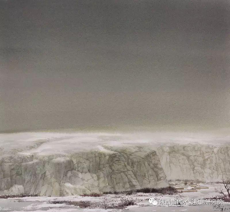 张红亮作品   内蒙古艺术家水彩画作品专题微展第17集 第12张