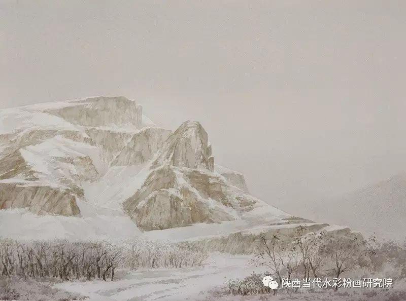 张红亮作品   内蒙古艺术家水彩画作品专题微展第17集 第11张