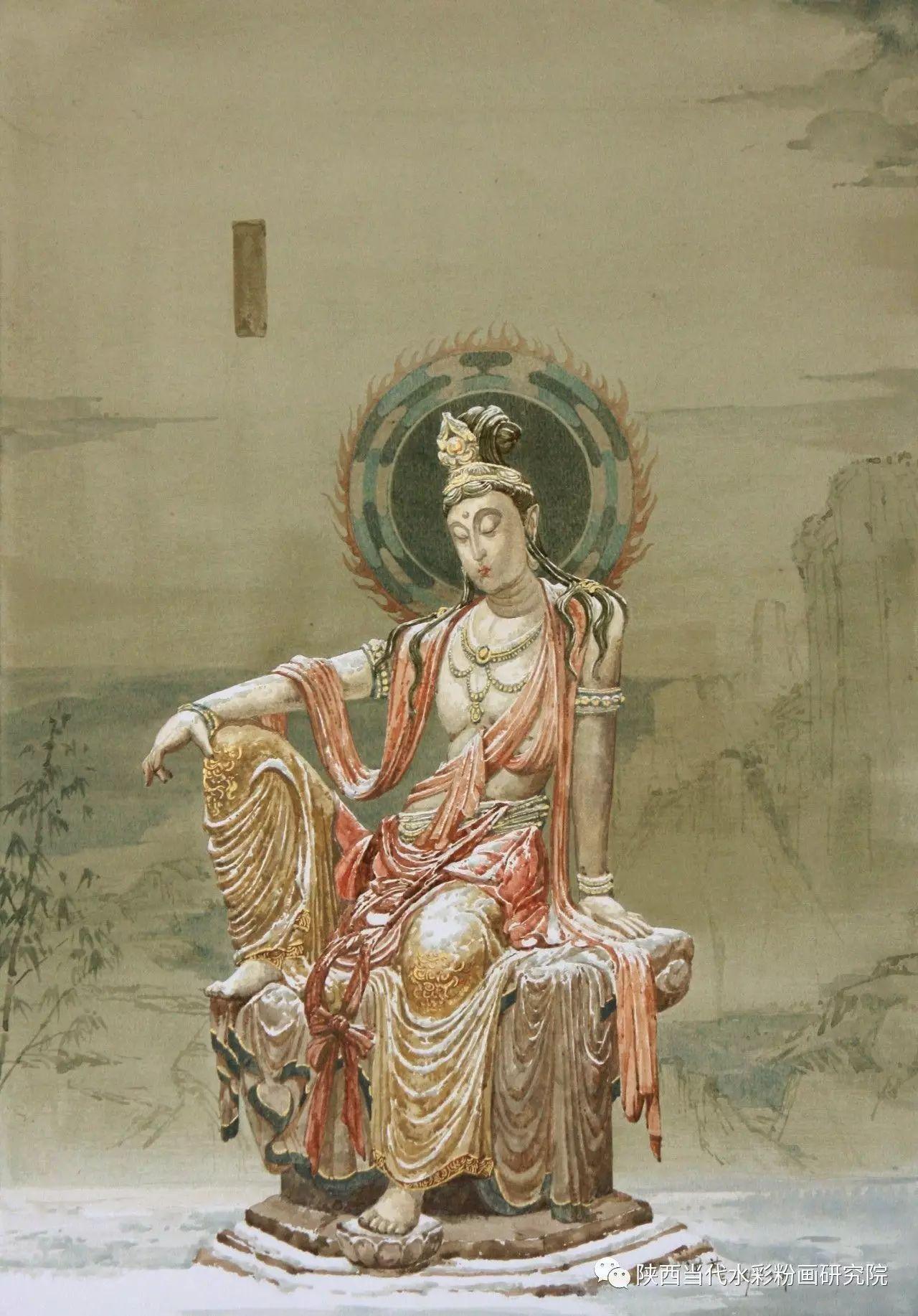 张红亮作品   内蒙古艺术家水彩画作品专题微展第17集 第15张