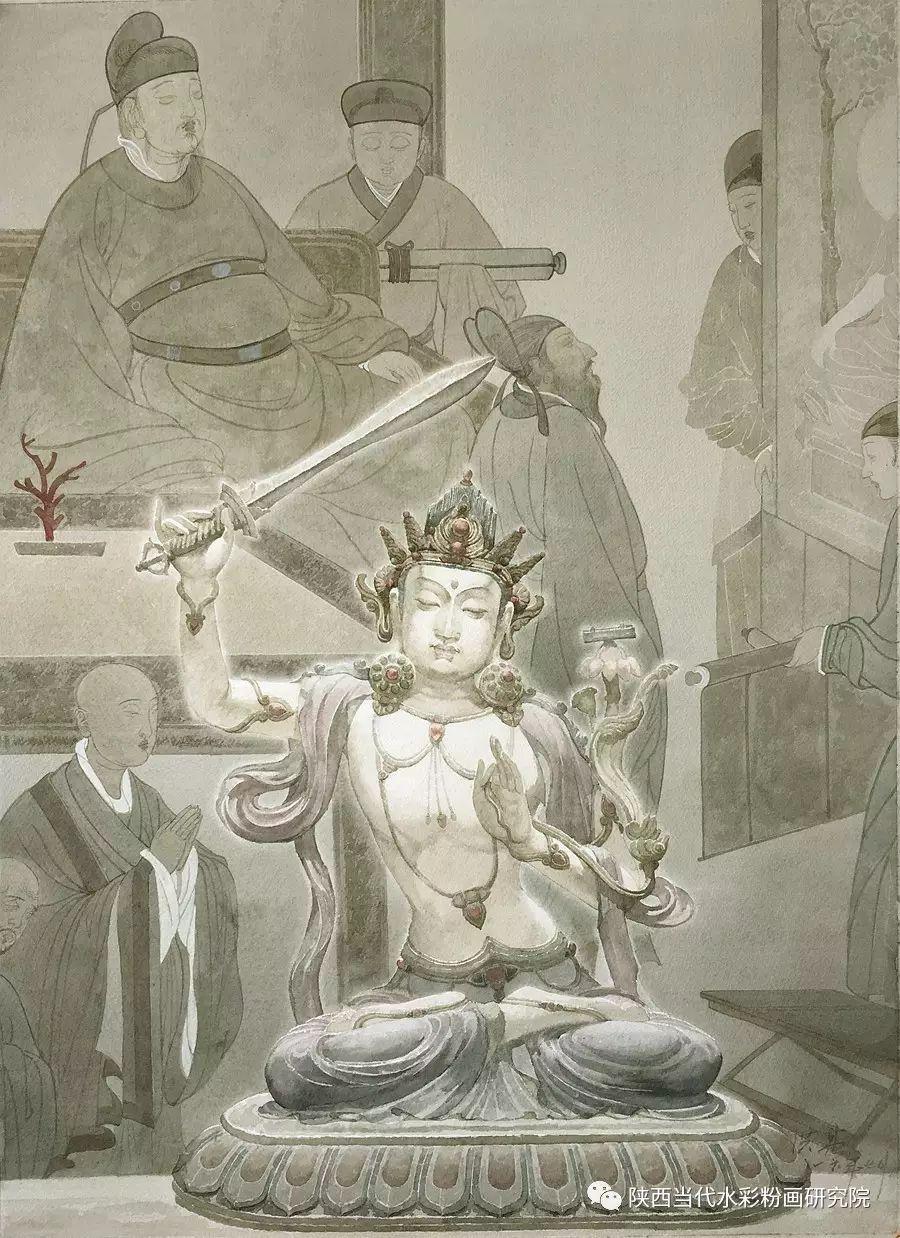 张红亮作品   内蒙古艺术家水彩画作品专题微展第17集 第19张