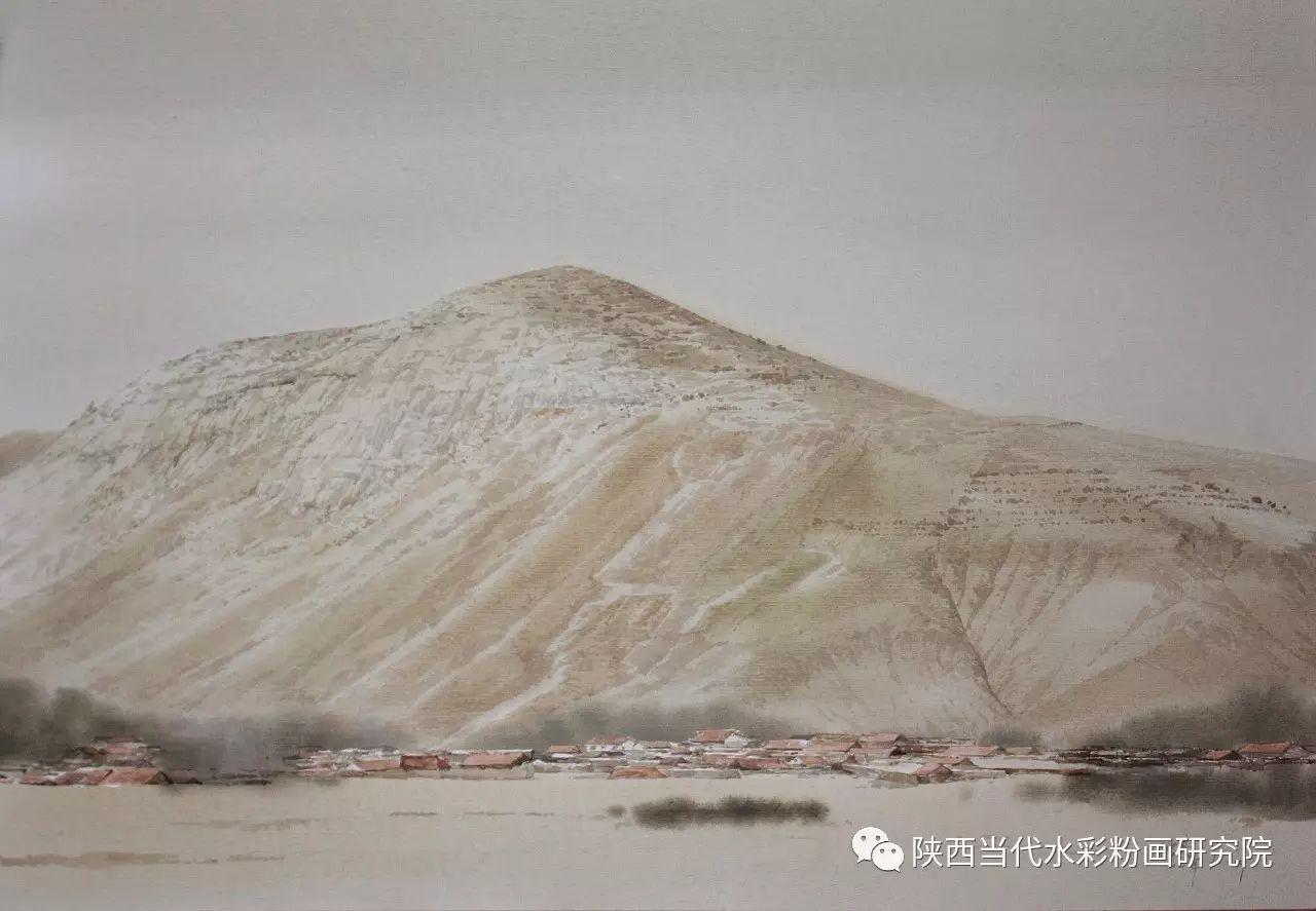 张红亮作品   内蒙古艺术家水彩画作品专题微展第17集 第25张