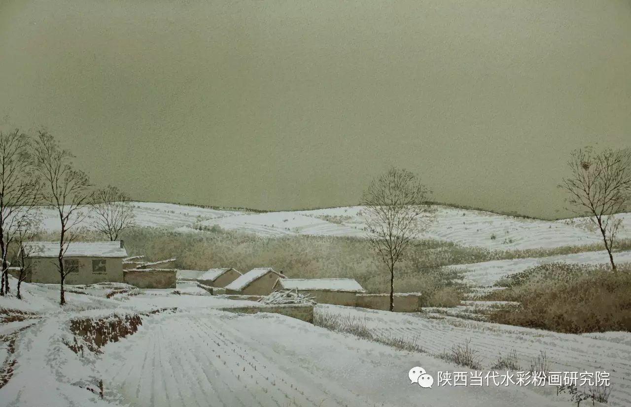 张红亮作品   内蒙古艺术家水彩画作品专题微展第17集 第26张