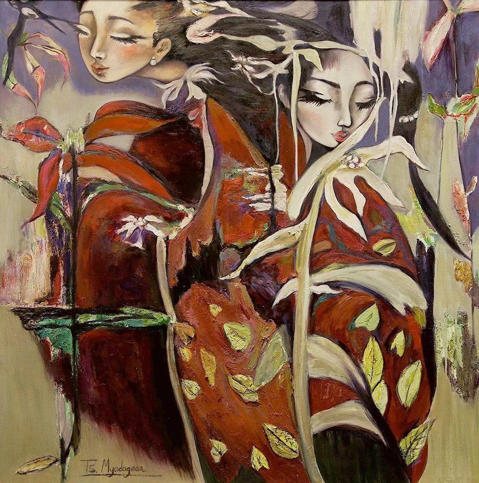 草原游牧文化——蒙古国美术家优秀作品展 第2张