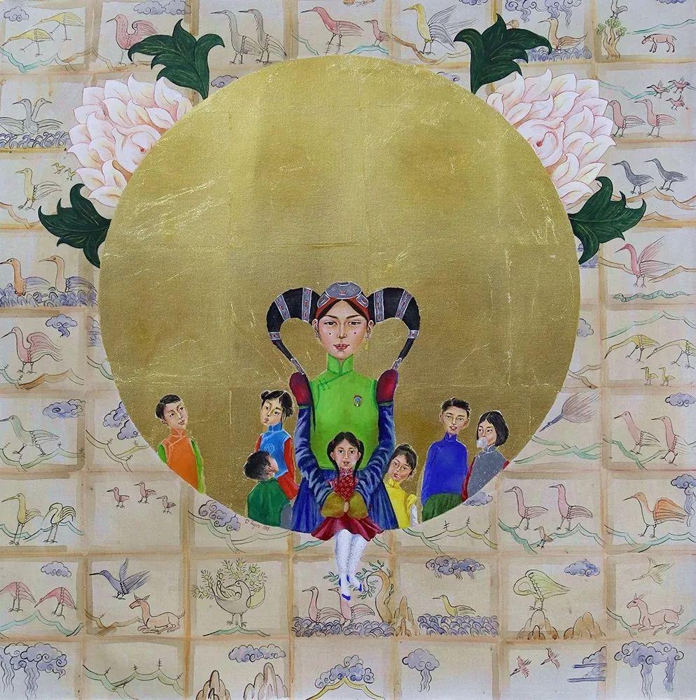 草原游牧文化——蒙古国美术家优秀作品展 第5张