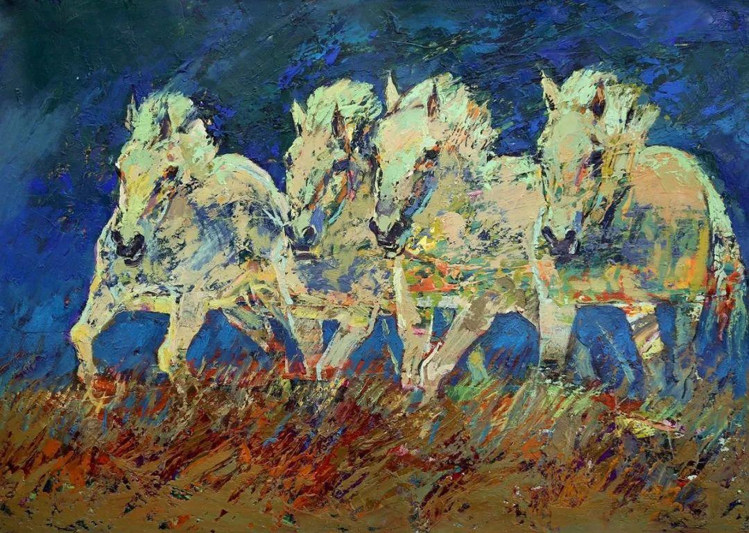 草原游牧文化——蒙古国美术家优秀作品展 第10张