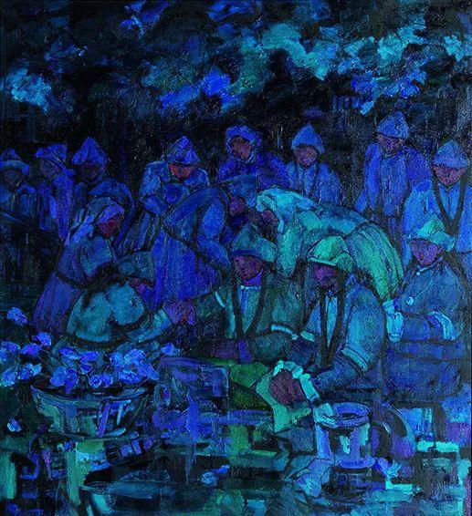【草原四季  亮丽北疆】全国美术作品展——内蒙古美术家入展作品 第12张