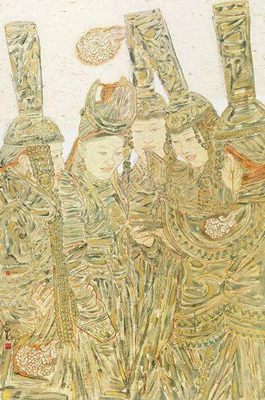 【草原四季  亮丽北疆】全国美术作品展——内蒙古美术家入展作品 第18张