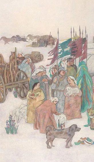 【草原四季  亮丽北疆】全国美术作品展——内蒙古美术家入展作品 第39张