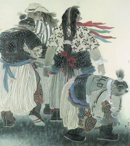 【草原四季  亮丽北疆】全国美术作品展——内蒙古美术家入展作品 第47张