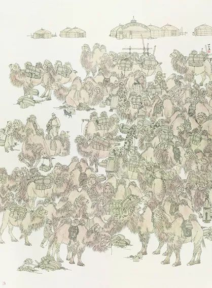【草原四季  亮丽北疆】全国美术作品展——内蒙古美术家入展作品 第55张