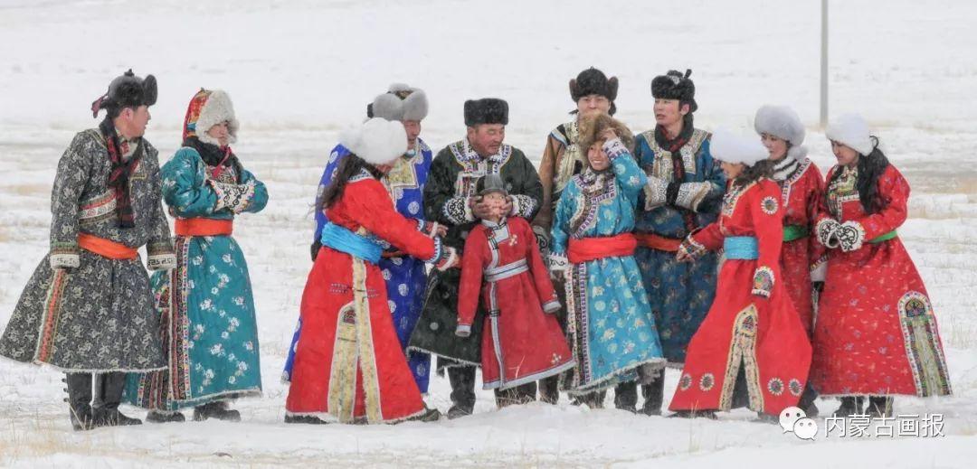 寒冷冬日,蒙古族是这样防寒的! 第1张