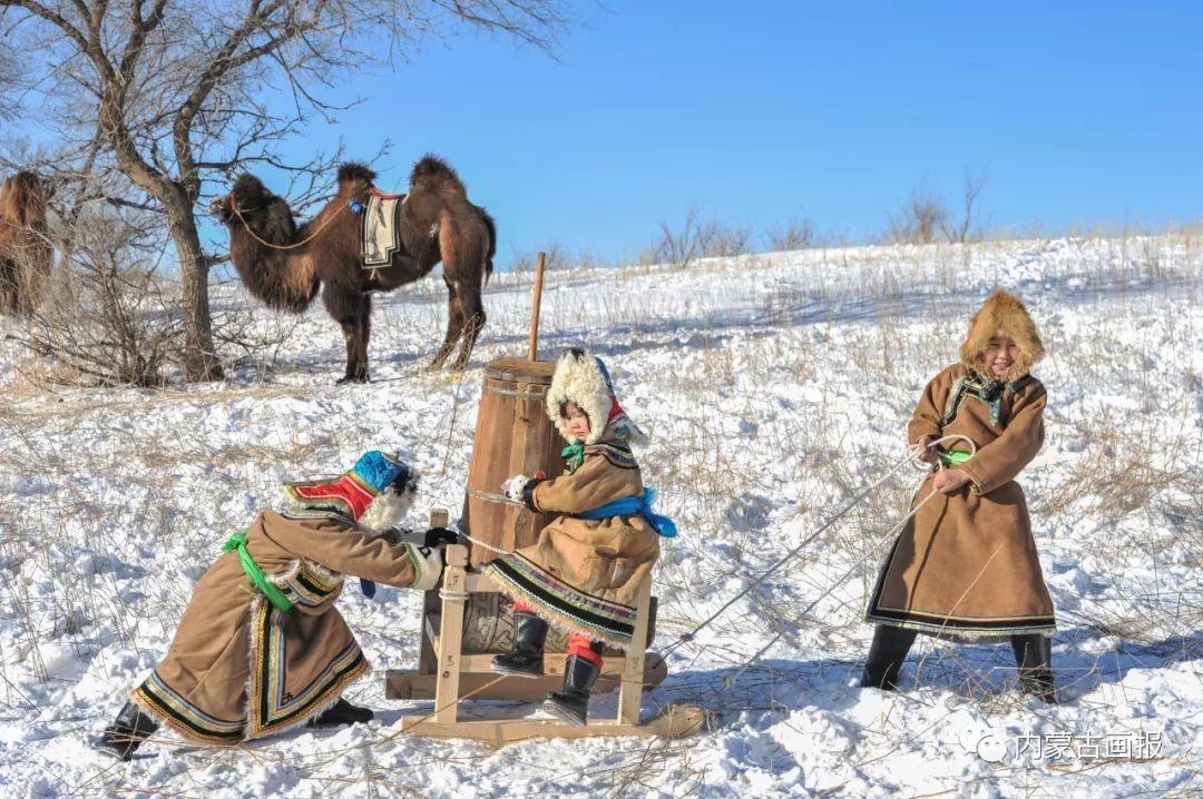 寒冷冬日,蒙古族是这样防寒的! 第6张
