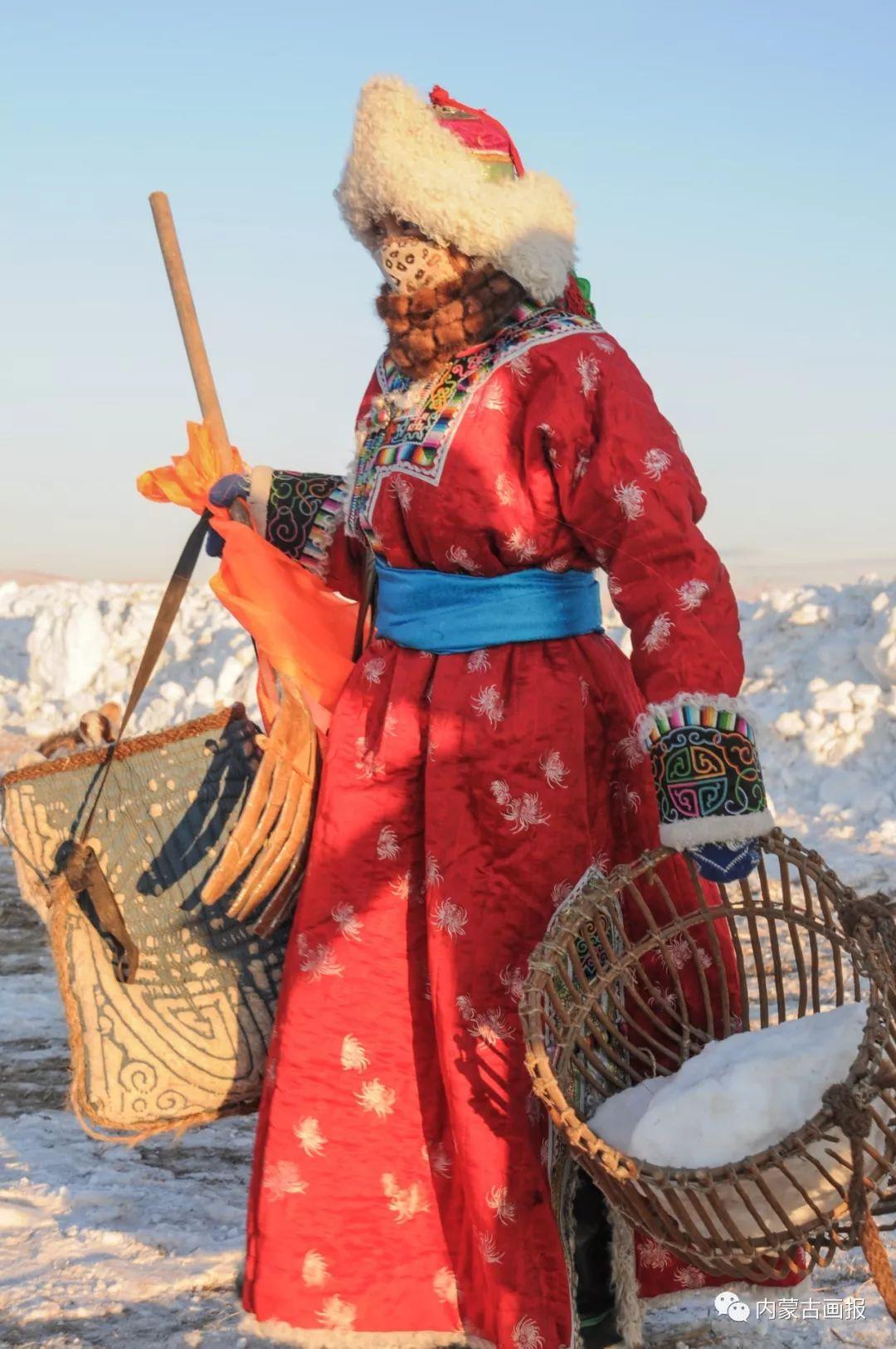 寒冷冬日,蒙古族是这样防寒的! 第9张