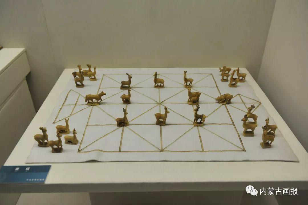 游牧生活中的智慧较量——蒙古族传统象棋和鹿棋子 第3张
