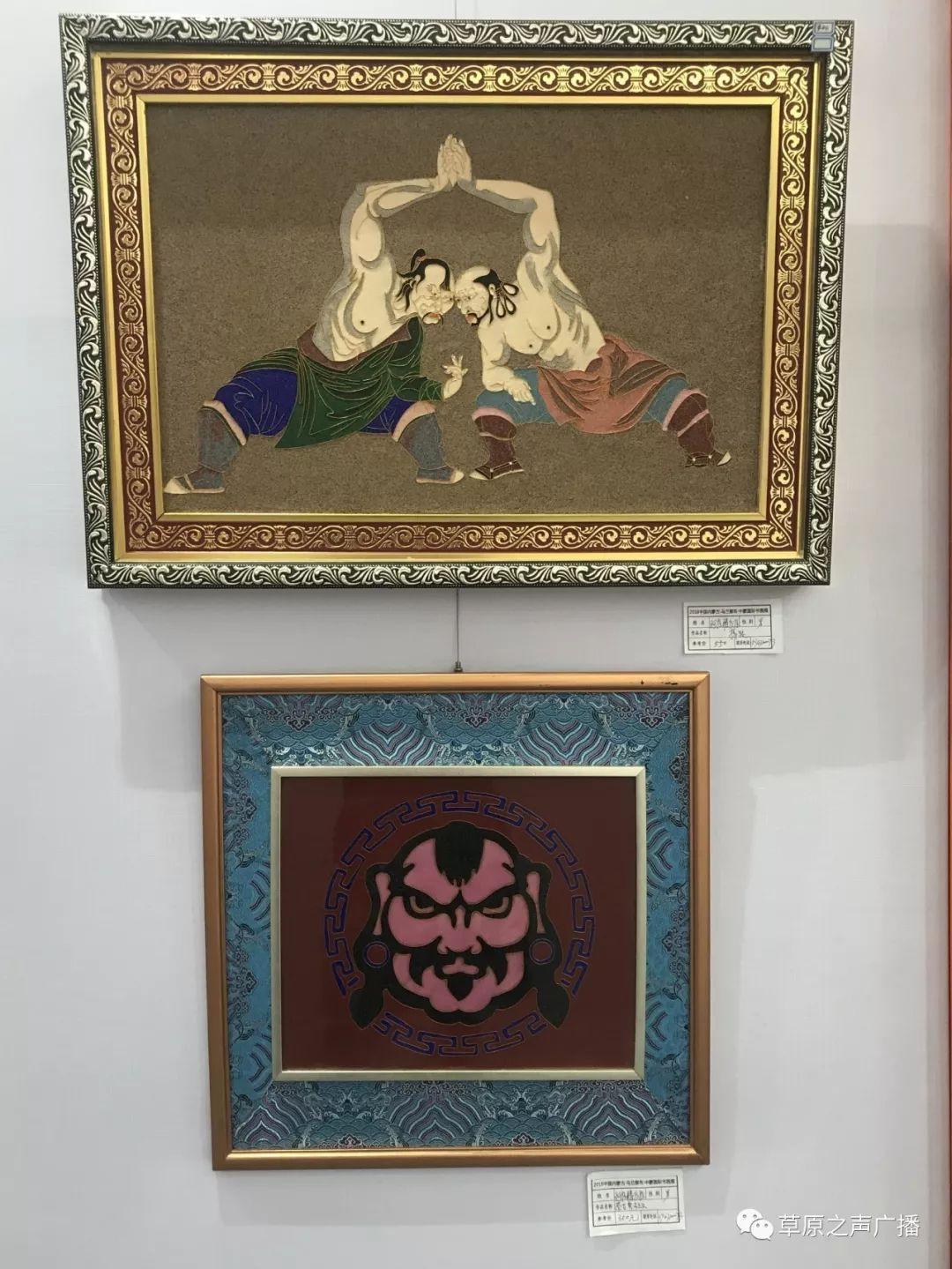 蒙古国书画展在乌兰察布举办 第8张