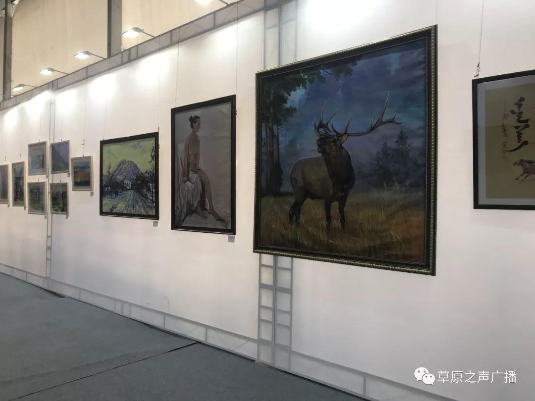 蒙古国书画展在乌兰察布举办 第18张