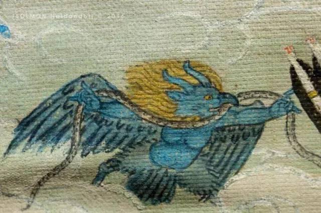 蒙古第一世哲布尊丹巴活佛亲身书画的圣主成吉思汗之像 第14张 蒙古第一世哲布尊丹巴活佛亲身书画的圣主成吉思汗之像 蒙古画廊